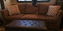 RV Furniture Upgrade – Less is More