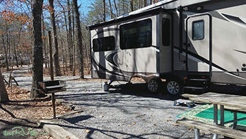 Rv Camping Cloudland Canyon State Park I Love Rv Lifei