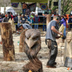 Chaptacular 2017 chainsaw carving event i love rv life