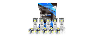 Marsauto 194 LED LIght Bulb T10