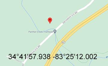 Panther Creek Trail Google Map